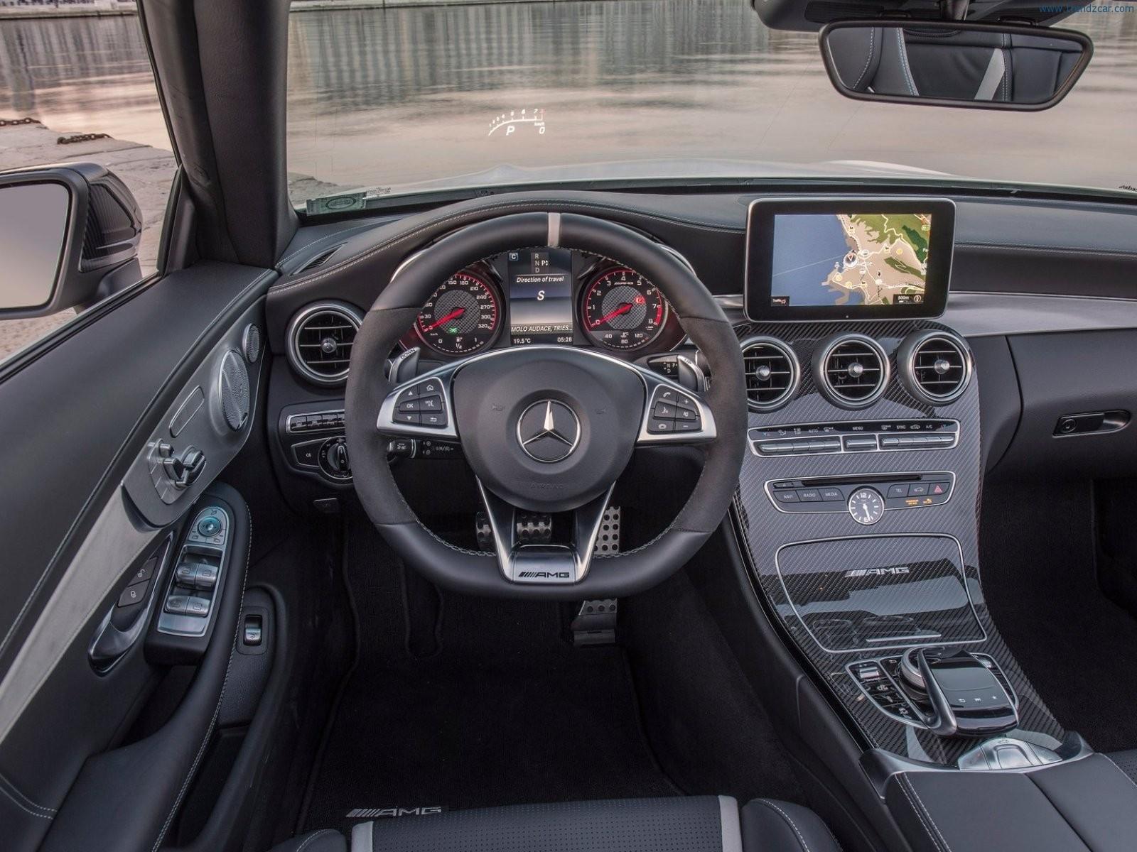 2017 Mercedes Benz C63 Amg Cabriolet Interior 4 Black Exclusive