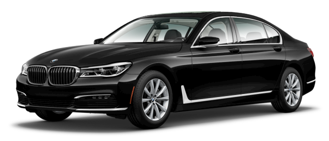 black exclusive bmw 7 series