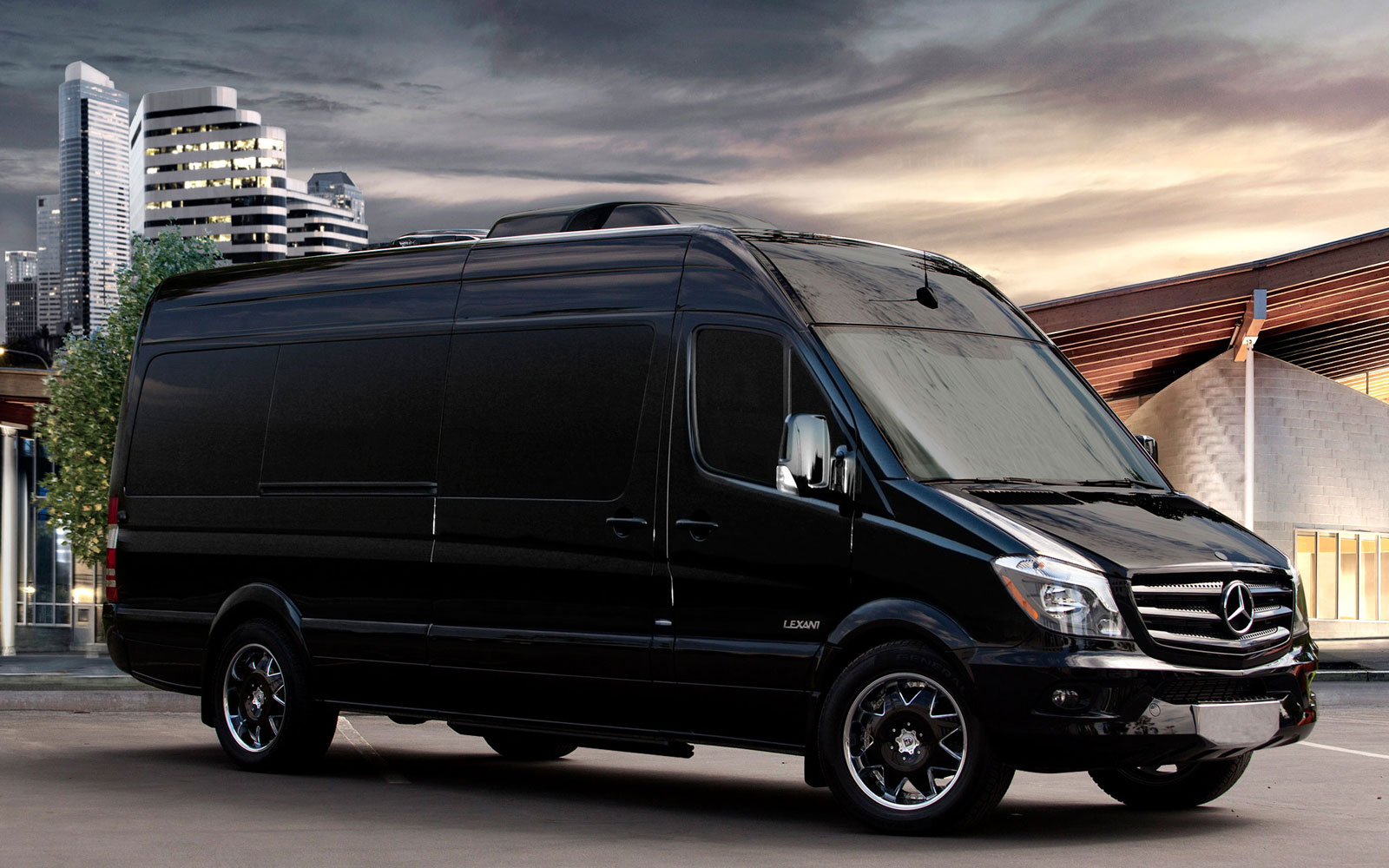 Premium vehicles in los angeles car rental black exclusive for Mercedes benz sprinter rental price